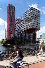 Rotterdam  Niederlande  Wohn- und Buerokomplex The Red Apple
