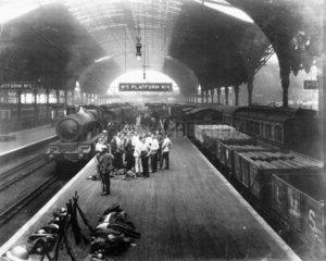 General Strike  4.30 pm  7 May 1926. A Roya