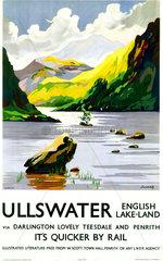 'Ullswater'  LNER poster  1923-1947.