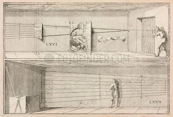 Plate from 'La Perspective curieuse'  1638.
