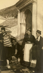 Peasants  Yugoslavia  1930s-1940s.