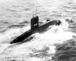 HMS 'Dreadnought' submarine  1963. Built in