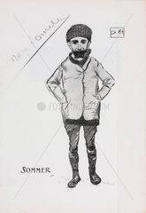 Roger Sommer  early aviator  1909.