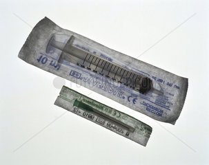 Disposable syringe  2000.