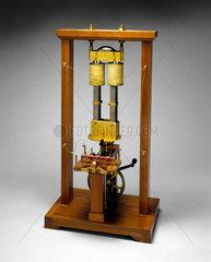 Pixii's magneto-electric machine  1832.
