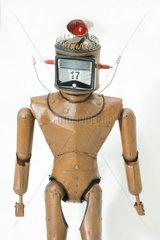 Robot puppet from 'Thunderbirds'  c 1965.