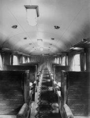 LMS vestibule interior  20 April 1934.