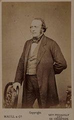 Jean Louis Agassiz  American naturalist and glaciologist  c 1850-1873.