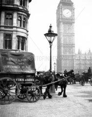 Big Ben  London  c 1900s.
