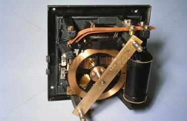 Synchronome half-minute impulse electric turret clock movement  1963.