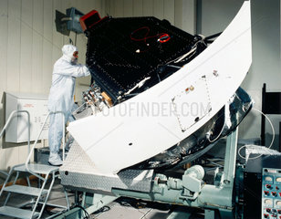 Construction of Wide Feld and Planetary camera for Hubble Telescope  1980s.