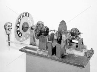 Logie Baird's television apparatus  1926. J