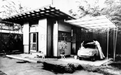Cheap home and car  Japan  1963.