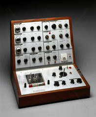 Analogue music synthesizer  1970.
