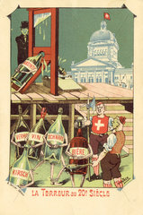 Absinthe prohibition - the Terror of the 20th century  1908.