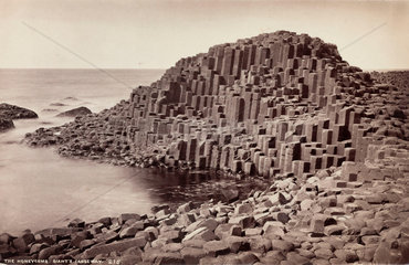 'The Honeycomb  Giant's Causeway'  Northern Ireland  c 1850-1900.