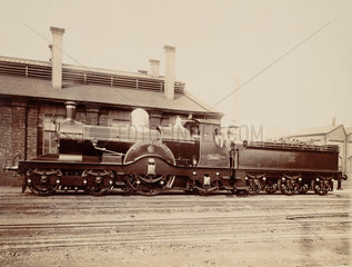 Great Western Railway locomotive  c 1870.