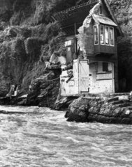 Lynmouth flood disaster  17 August 1952.