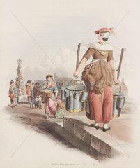 'Milk Woman'  1808.