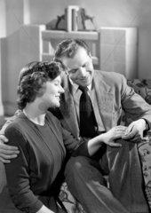 Happy couple  c 1950.