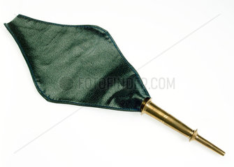Enema syringe with cloth carrying bag  Indian  2005.