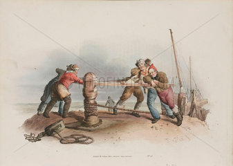'Fishermen at a Capstan'  1808.