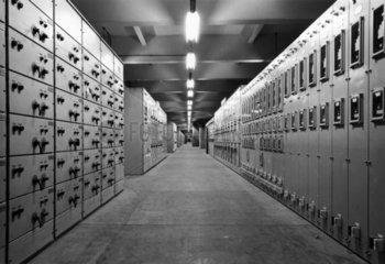 Longannet Boiler switchgear annex  1971.