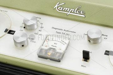 Diagnostic audiometer  c 1970-1980.