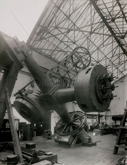 74 inch reflecting telescope  1933.