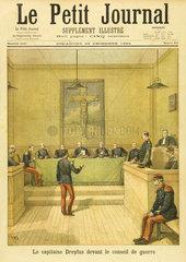 Dreyfus at the Council of War  23 December 1894.