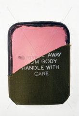 Bullet-proof vest plate  1996.