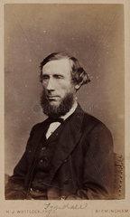 John Tyndall  Irish physicist  c 1875.