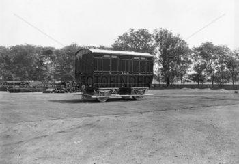 Midland Railway van number 2  one of four corpse vans built in 1888.