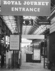 'Royal Journey' exhibition  c 1965.