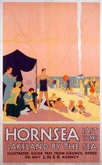 'Hornsea - Lakeland by the Sea'  LNER poster  1923-1947.