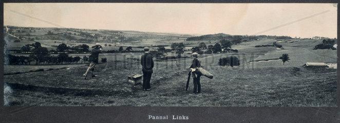 Pannal Links  NER carriage photograph  1910-1922.