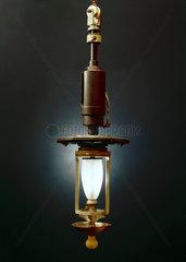Jandus arc lamp  British  1895.