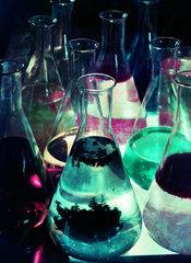 Laboratory flasks  1959.