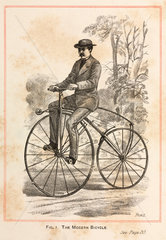 'The Modern Bicycle'  1869.