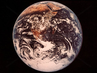 Full view of the Earth  1972.