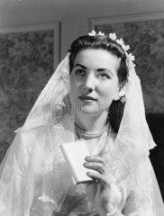 Bride  late 1940s-1950s.