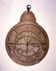 Large Hindu planispheric astrolabe  1870.