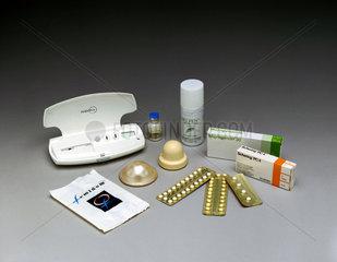 Female contraceptives  2000.
