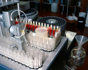 Separating blood products  1980.