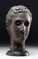 Bakelite face phantom  Austrian  early 20th century.