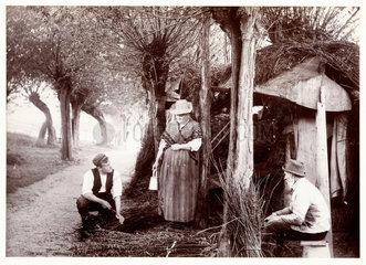 Tying bundles  c 1890.
