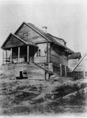 Russian cottage  1852.