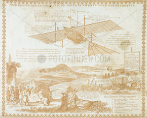 'The Flying Steam Company  to China in Twenty Four Hours Certain'  c1843.