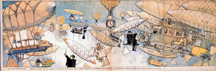 'Congestion'  France  1901-1914.