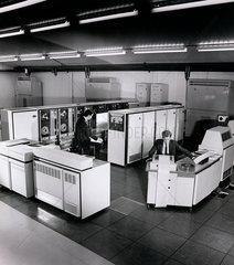 English Electric Computer works the Smith American system with operators.